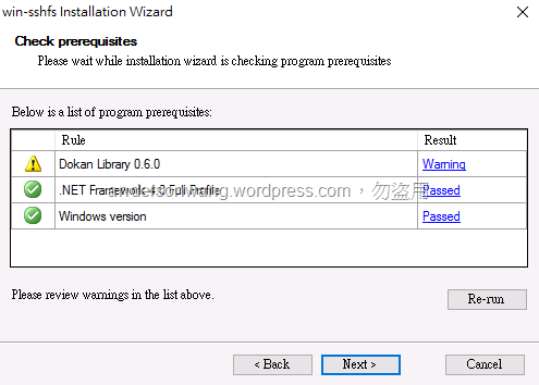 在Windows 10 使用sshfs 掛載Linux 的目錄| Anderson`s blog